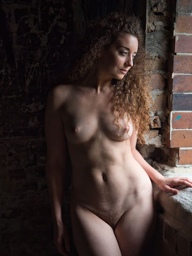 ella rose muse reflective artistic nude photo by photographer pgl05