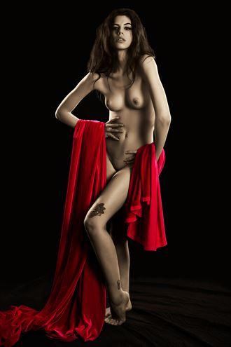 ella thrasher film noir print artistic nude photo by photographer bemymuse