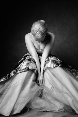 elyse defoor glamour artwork by photographer david clifton strawn