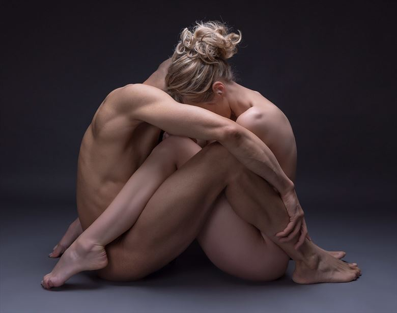 embrace artistic nude photo by model selkie
