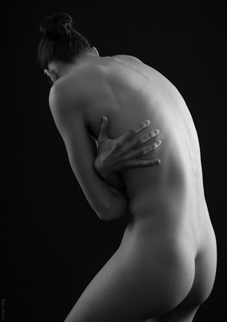 embrace artistic nude photo by photographer bo michal