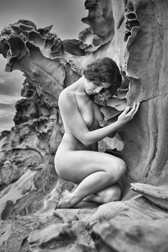 embrace the heart artistic nude photo by photographer jonathan c