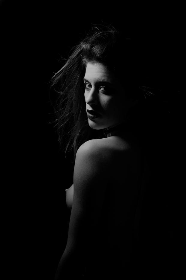 emily artistic nude artwork by photographer daniel tirrell photo