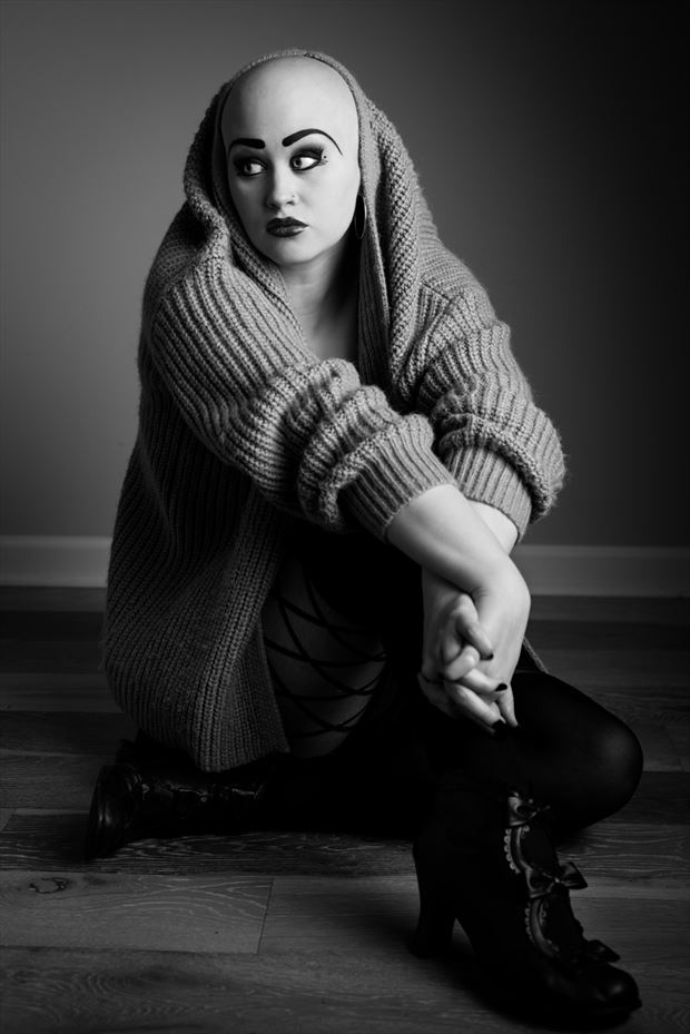 emma and the sweater alternative model photo by photographer stphoto