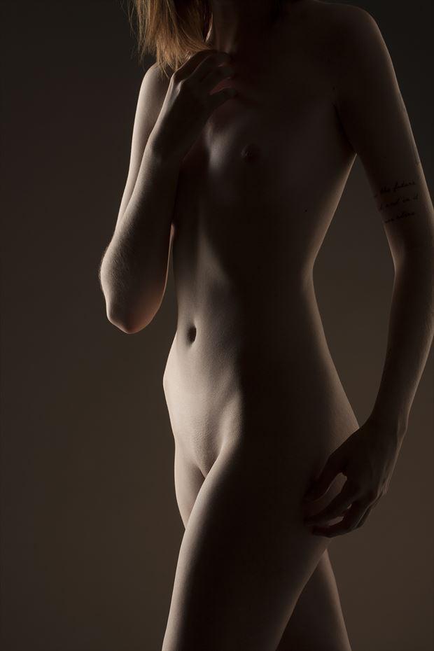 emma between poses artistic nude photo by photographer pat berrett