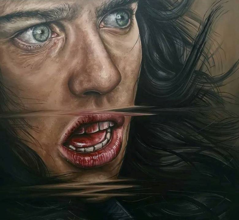 emotional artwork by artist daniela guerreiro