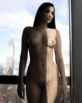 empire state body artistic nude photo by photographer jose