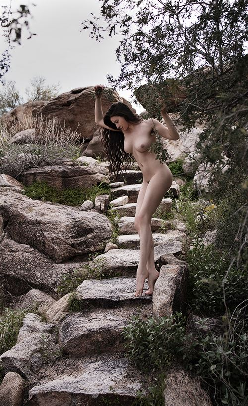 english rose 2 artistic nude photo by model katy t