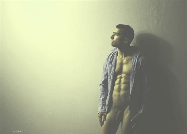 enlightened artistic nude photo by model coma12