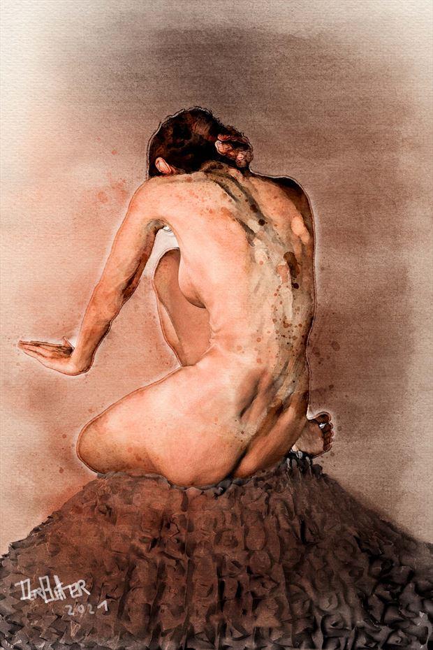 enough artistic nude artwork by artist derbuettner