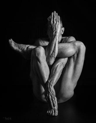 entangled studio lighting photo by model artfitnessmodel