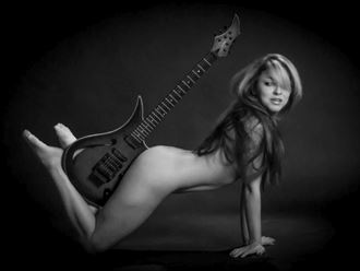 envol%C3%A9e musicale 1 artistic nude photo by photographer dick