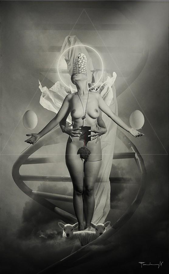 eritis sicut dii Artistic Nude Artwork by Artist pierre fudaryl%C3%AD