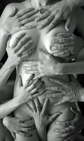 erotic figure study photo by photographer werner lobert