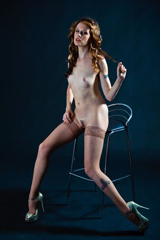 erotic studio lighting photo by photographer dimensional images