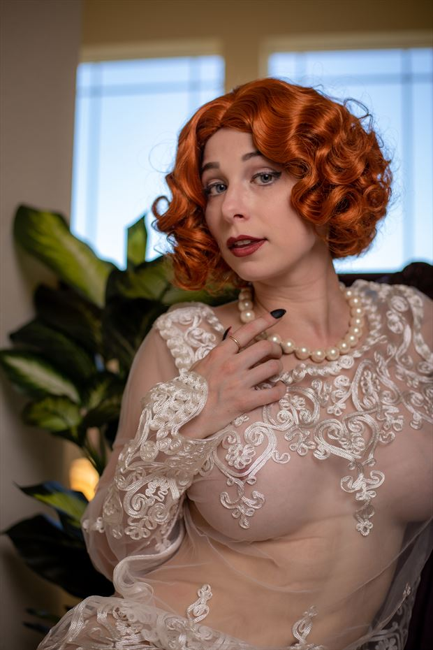erotic vintage style photo by photographer eric upside brown
