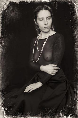 erotic vintage style photo by photographer stevelease