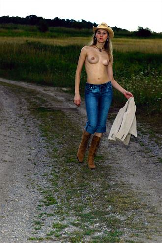 eva country road artistic nude photo by photographer bemymuse