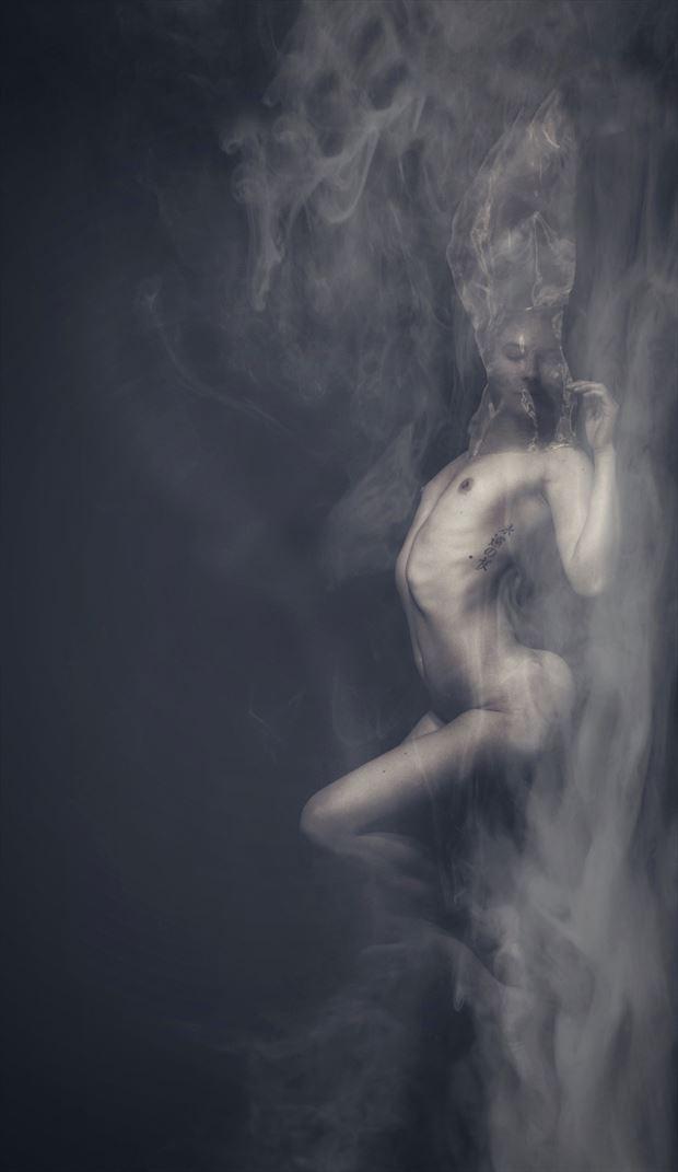 evaporation artistic nude photo by model daniella sama