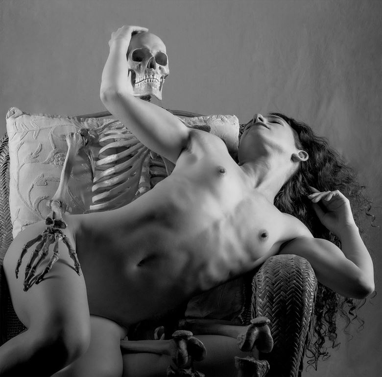 exchanging a loving touch artistic nude photo by photographer gpstack