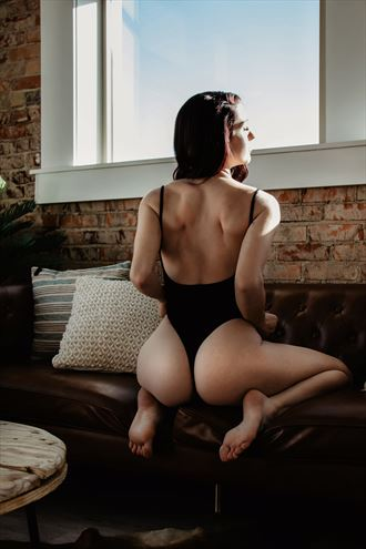 excited at your approach lingerie photo by model talyawild