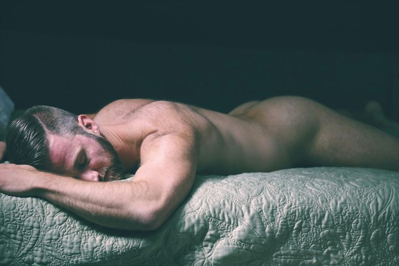 exhausted artistic nude photo by photographer ashleephotog