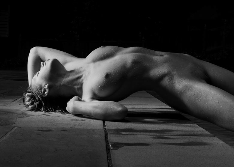 expectation artistic nude photo by model melancholic
