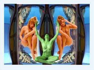 experimental artwork by photographer akimota