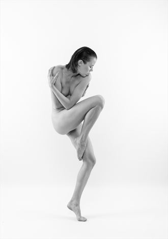 expressive artistic nude photo by photographer bo michal