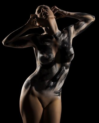 expressive body paint artistic nude photo by photographer gee virdi