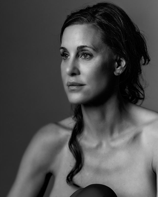 expressive portrait photo by model callmemadeleine