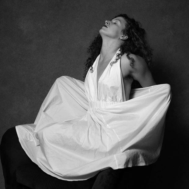 expressive portrait photo by model madeline reynolds