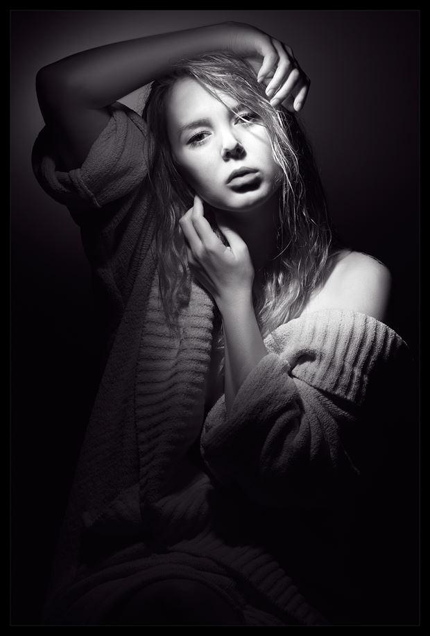 expressive portrait photo by photographer jeffbuchananphoto