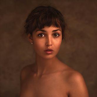 expressive portrait photo by photographer ljportraits
