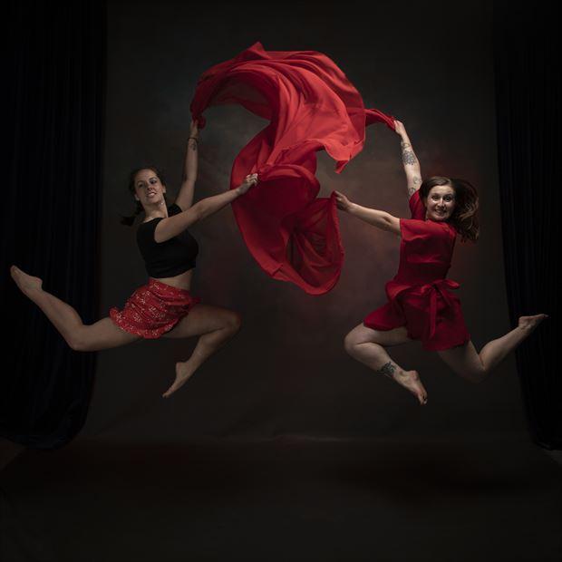fabric dance studio lighting photo by photographer andrewmackay