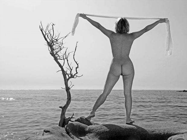 face %C3%A0 la mer artistic nude photo by photographer dick