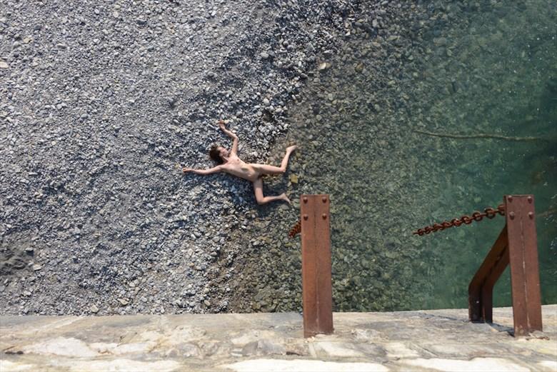 fallen angel Artistic Nude Photo by Model Nelenu