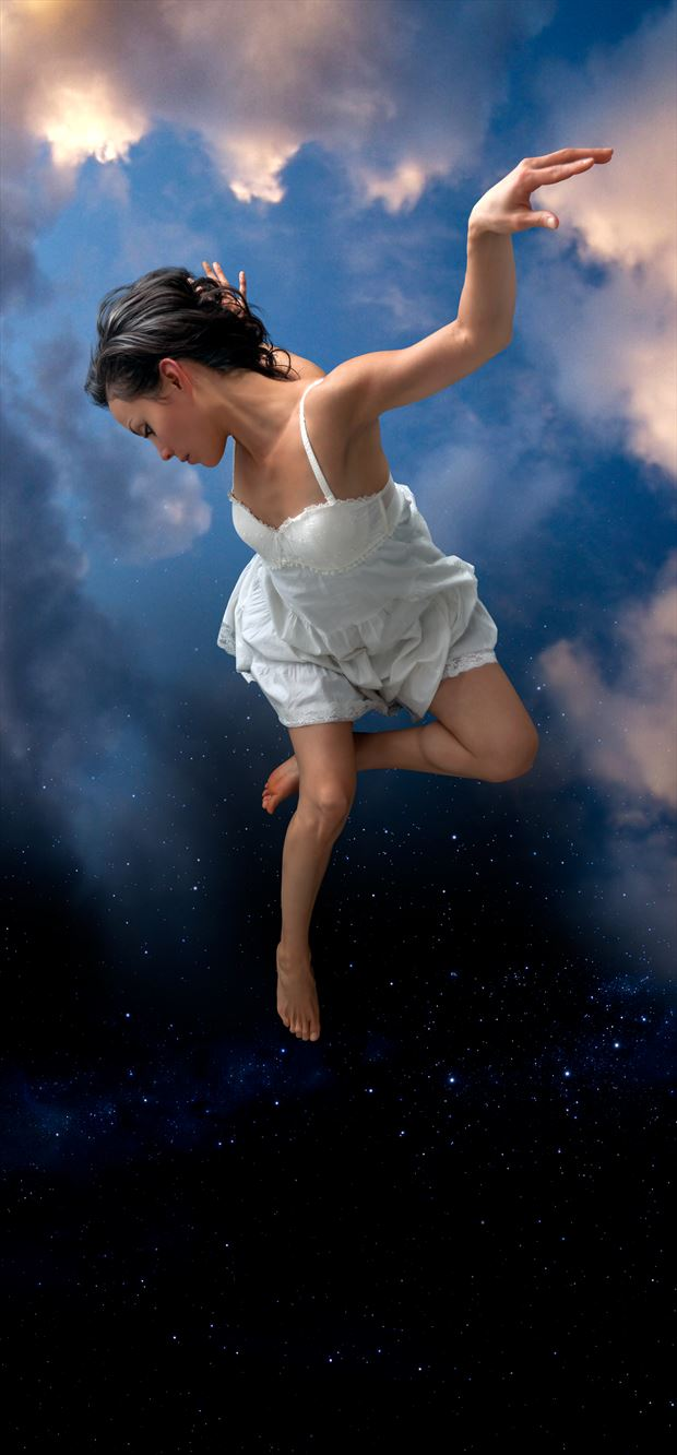 falling fantasy photo by photographer perry van dongen