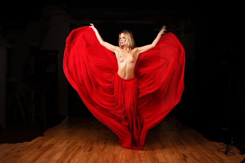 fanny artistic nude photo by photographer robert l person