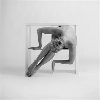 fanny cubed artistic nude artwork by photographer richard byrne