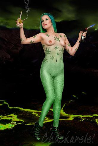 fantasy body painting photo by photographer chuckarelei