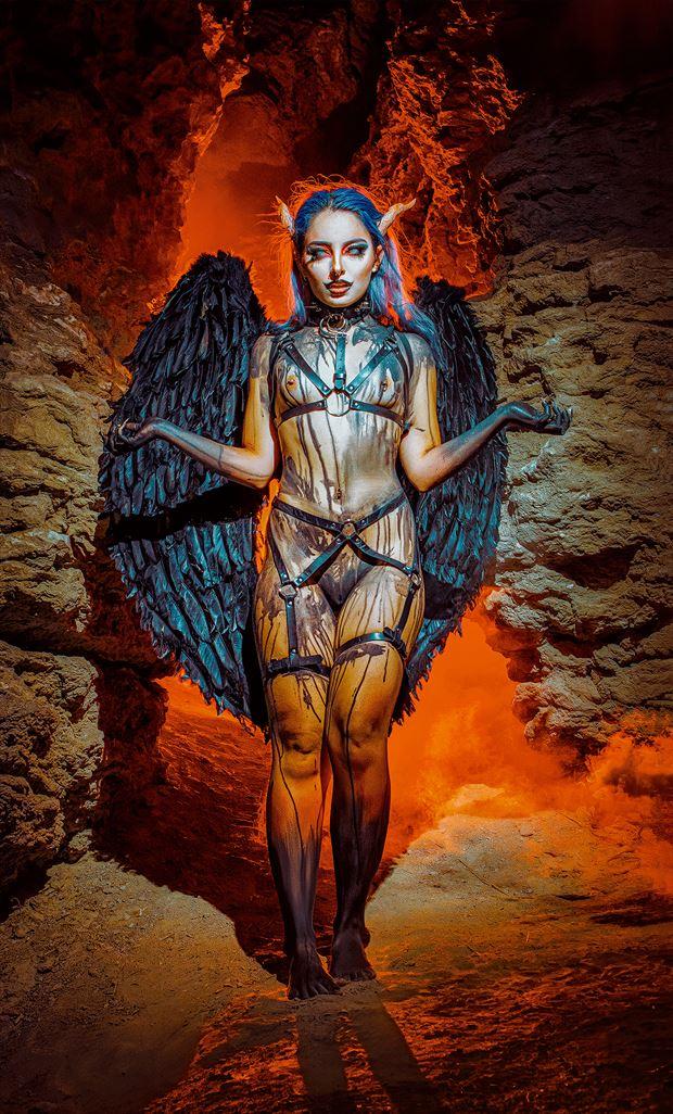 fantasy body painting photo by photographer pinturero