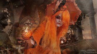 fantasy expressive portrait photo by photographer vincent of dreamhouse