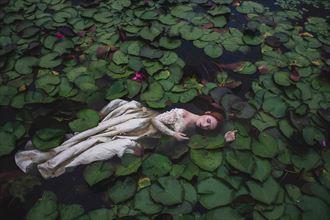 fantasy fashion photo by model astrid kallsen