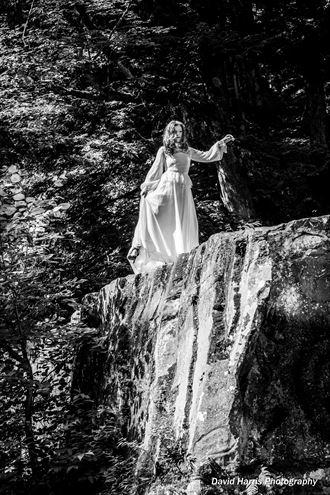 fantasy figure study photo by model ellecata