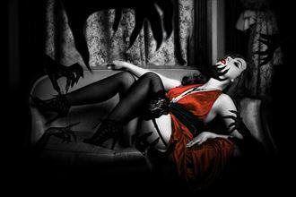 fantasy sensual artwork by model jadevamp1986