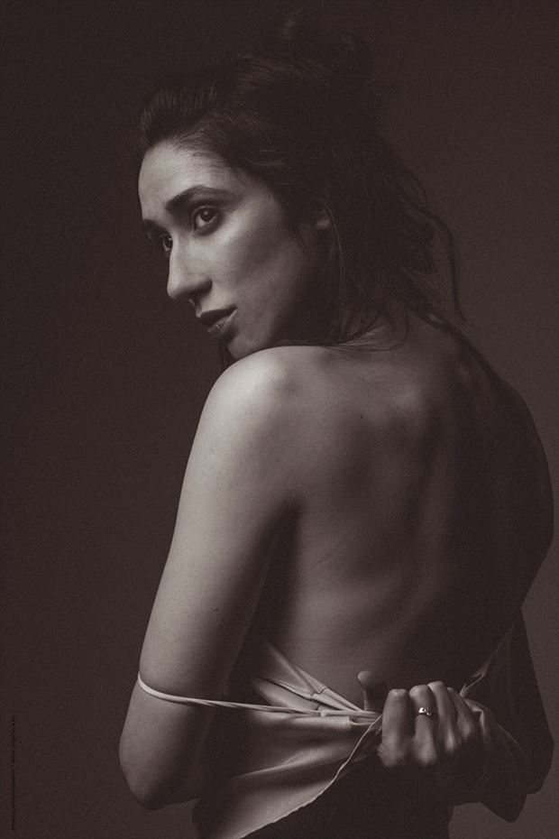 fashion emotional photo by model tess