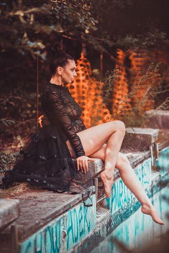 fashion photo by model annalisa troian