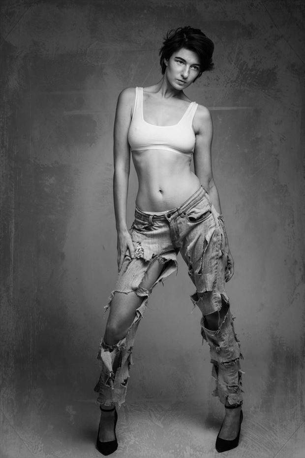 fashion photo by model sarascarlet