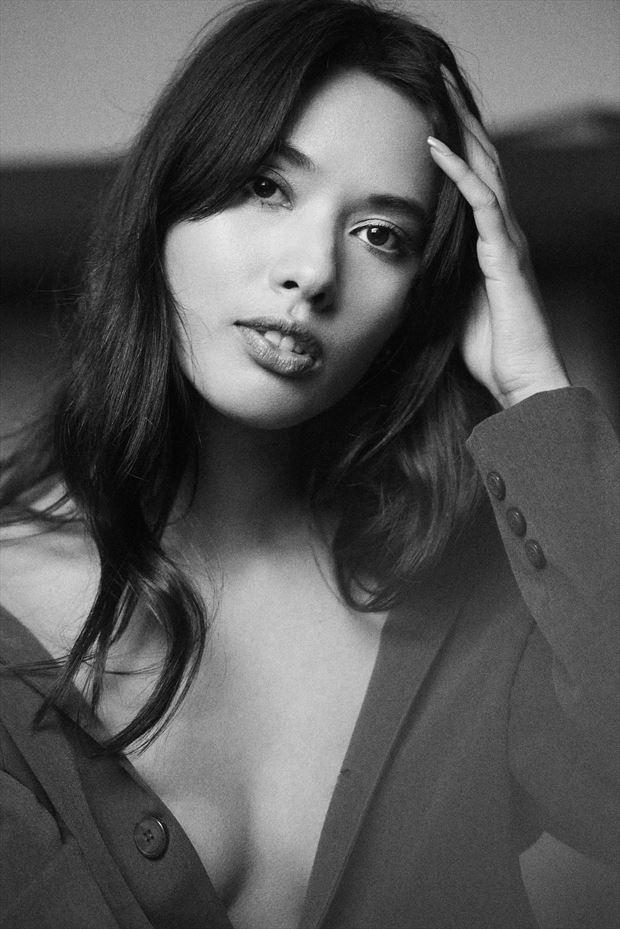 fashion portrait photo by photographer stephane michaux